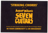 """Striking Chords"" with August Wilson's Seven Guitars Postcard"