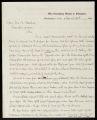 A.B. Eaton letter to John A. Rawlins, 1869