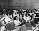 Women spectator's at Black Muslim trial