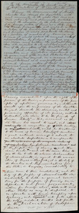 Draft of a petition from William Lloyd Garrison, [Boston], [Mass.], to the Massachusetts General Court Senate and the Massachusetts General Court House of Representatives, [Jan. 30, 1846]