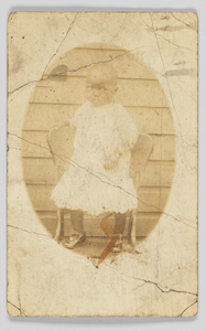 Thumbnail for Photographic postcard of unidentified child