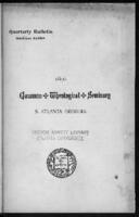 Gammon Theological Seminary, 1890
