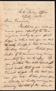 Letter from Oliver Johnson, [New York, N.Y. ?], to William Lloyd Garrison, 8 July, 1858