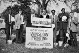 Groundbreaking Ceremony for Winslow Printing