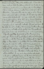 Letter] For Mr. May, Leicester [manuscript