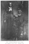"Rev. Josiah Henson and wife; The original ""Uncle Tom"", Dresden, Ont"