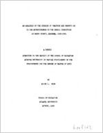 An analysis of the opinion of teachers and parents as to the effectiveness of the school curriculum in Henry county, Alabama, 1960-1961