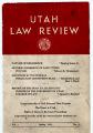 Utah Law Review 1953 Volume 3 Number 3