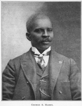 George S. Mabry, Of North Carolina; Member of the Committee on Race Harmony; National Sociological Society; Member, Ways and Means Committee, National Sociological Society