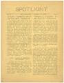 Spotlight, Volume 4, Number 4, Thomson High School, Esko, Minnesota