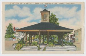 Postcard of Pavilion 12th Armored Division Collection
