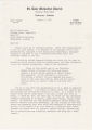 Letter from John P. Thomas, minister at St. Luke Methodist Church in Enterprise, Alabama, to Ed Strickland of the Alabama Legislative Commission to Preserve the Peace in Montgomery, Alabama.
