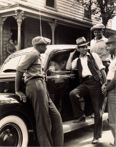 New Car (South Richmond, Virginia), from the project The Negro in Virginia