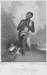 Slave kneeling and praying