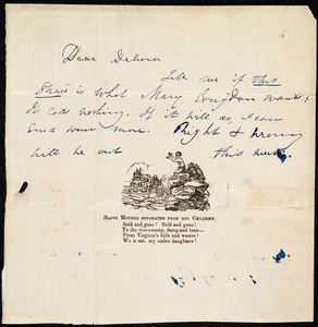 Letter from Maria Weston Chapman to Deborah Weston, [1839, ca. May 21]