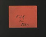 Correspondence and Papers, 1929-1933. (Box 1, Folder 10)