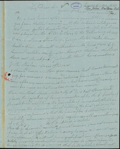 Letter from John Walker, Barre, Vermont, to Amos Augustus Phelps, 1838 Jan[uary] 31st