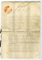 Royal Warrant, September 23, 1817, signed by George IV