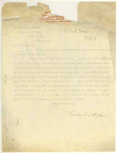 Letter from Frederick L. McGhee to W. E. B. Du Bois