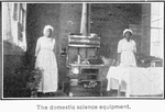 County training school, Pickens County, Ala.; The domestic science equipment