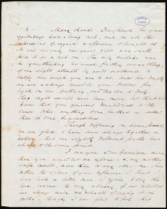 Letter from Wendell Phillips, to William Lloyd Garrison and Helen Eliza Garrison, Jan[uar]y 6. 1846