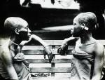 Long headed slave girls, Congo, ca. 1900-1915