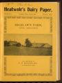 Heatwole's Dairy Paper, Volume II, Number 6, August 1907