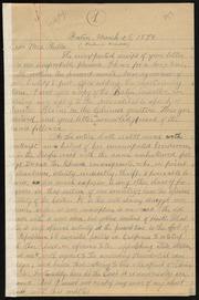 Letter to] Dear Mrs. Philleo [manuscript