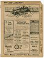 """A Trip to Coontown"" theater program, Bijou Opera House, Minneapolis, Minnesota"