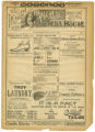 """A German Soldier"" theater program, Bijou Opera House, Minneapolis, Minnesota"