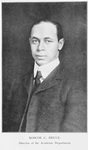 Roscoe C. Bruce; Director of the Academic Department
