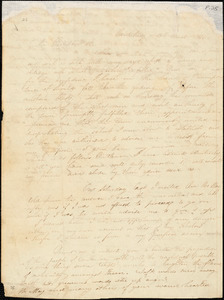 Letter from Prudence Crandall, Canterbury, [Connecticut], to William Lloyd Garrison, 1833 March 19th