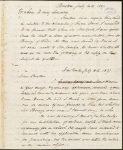 Letter to] To whom it may concern [manuscript