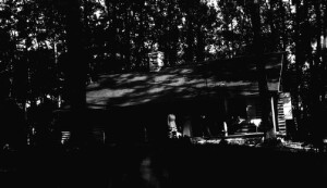 Unidentified log cabin.