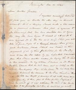 Letter from Amos Augustus Phelps, Farmington [Conn.], to William Lloyd Garrison, Dec. 10. 1835