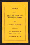 Agreement between Seaboard Coast Line Railroad Company and its chair car attendants represented by the Brotherhood of Sleeping Car Porters