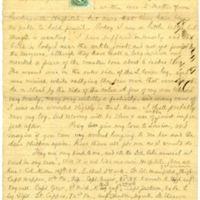 Autograph letter signed : Lynchburg, Va., to James T. Fields