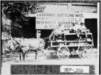 Photograph of workers at the LaGrange Bottling Works, LaGrange, Troup County, Georgia, 1914