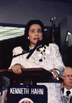 Coretta Scott King Speaks at A C Bilbrew Library