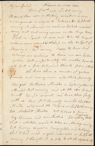 Letter from Arnold Buffum, Andover, [Massachusetts], to William Lloyd Garrison, 1832 [October] 23