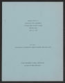State Supervisor of Elementary Education; Supervisors and principals conferences, 1953