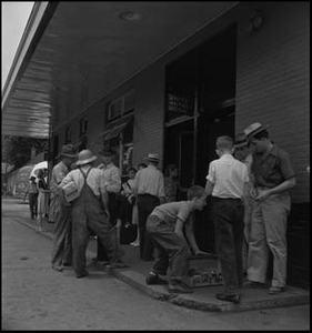 Segregated waiting room in Middlesboro, Kentucky Joe Clark, HBSS, 1939-1989 Tennessee Select