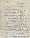 Ruby Agee to Mrs. Meredith (Undated)