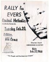 Rally for Evers