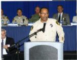 Photograph Greg McCurdy speaking at the Las Vegas Counterterrorism Awareness Workshop, 2013