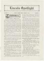 Lincoln Spotlight, Volume 3, Number 12, Lincoln High School, Esko's Corner, Minnesota
