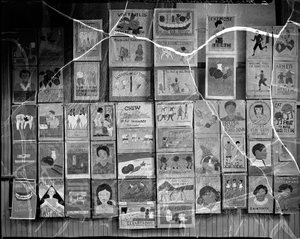 Mrs. Hampton's drawing exhibit [acetate film photonegative]