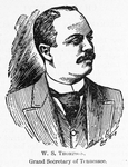 W. S. Thompson; Grand Secretary of Tennessee