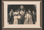 [Howard University Law School class outside Rankin Hall, Washington, D.C.]