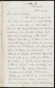 Letter to] Dear Mr. M'Kim [manuscript